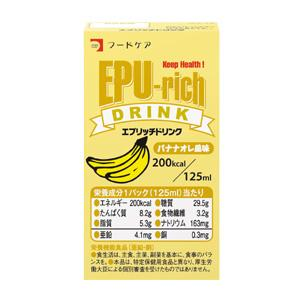 エプリッチドリンク バナナオレ風味 125ml