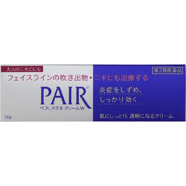【第2類医薬品】【セ税】<br>[ライオン]<br>ペアアクネクリームW 14g