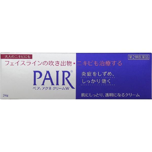 【第2類医薬品】【セ税】<br>[ライオン]<br>ペアアクネクリームW 24g