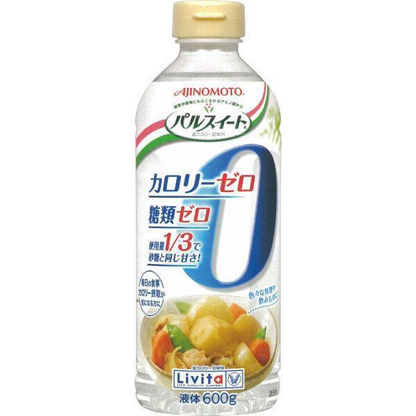 [味の素]甘味料<br>パルスイート カロリーゼロ・液体タイプ 600g