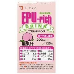 エプリッチドリンク ピーチオレ風味 125ml