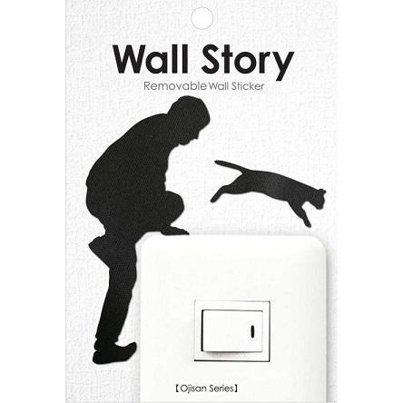 Wall Story(ウォールストーリー) Ojisanシリーズ 猫逃亡 WS-O-09