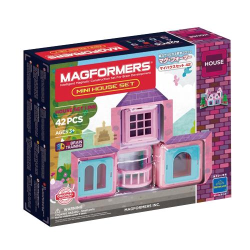 ボーネルンド マグ フォーマー マイハウスセット 42ピース (MF705005J)