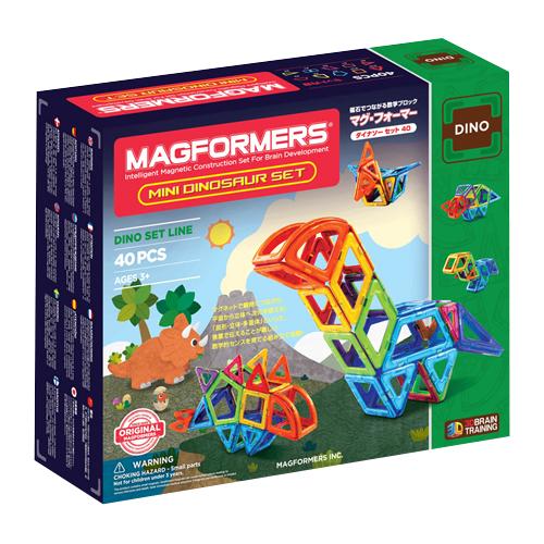 ボーネルンド マグ フォーマー ダイナソーセット 40ピース (MF708003J)