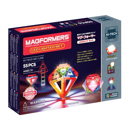 ボーネルンド マグ フォーマー LEDライトセット 55ピース (MF709001J)