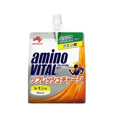 [味の素]<br>アミノバイタル ゼリードリンク リフレッシュチャージ レモン味 180g