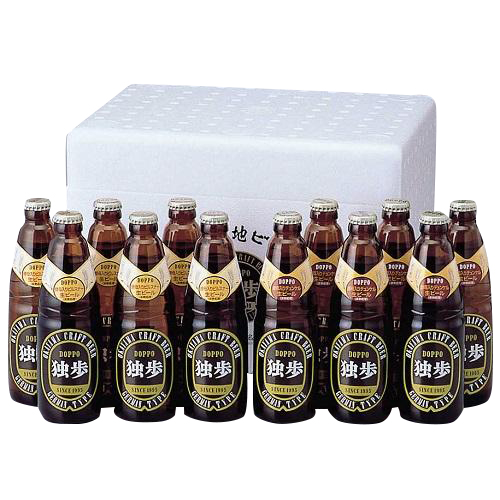 [宮下酒造]<br>独歩ビール詰め合わせ (MBH-12C)