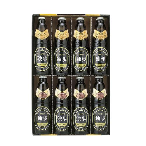 [宮下酒造]<br>独歩ビール詰め合わせ MB-8C