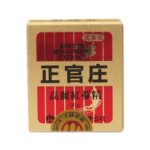 【第3類医薬品】<br>正官庄 高麗紅蔘精 30g