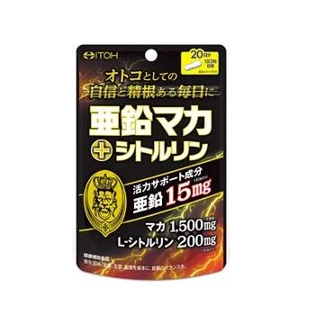 [井藤漢方製薬]<br>亜鉛マカ+シトルリン 60粒入