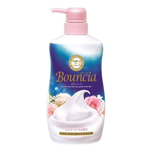【数量限定】<br>[牛乳石鹸]<br>バウンシア ボディソープ エアリーブーケの香り ポンプ 500ml