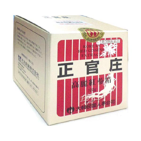 【第3類医薬品】<br>正官庄(せいかんしょう) 高麗紅蔘精 100g