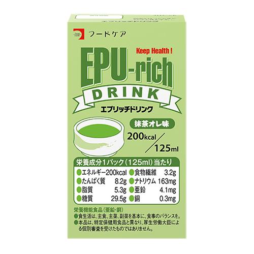 エプリッチドリンク 抹茶オレ味 125ml