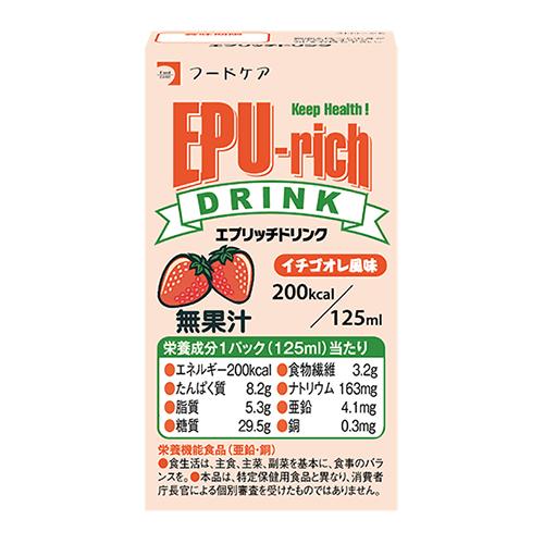 エプリッチドリンク イチゴオレ風味 125ml