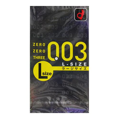[オカモト]<br>ゼロゼロスリー Lサイズ 10個入