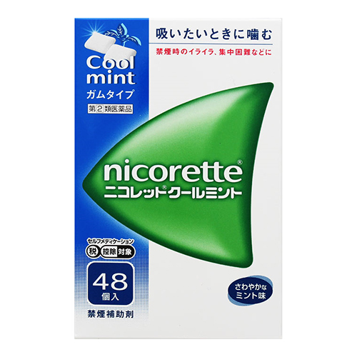 【第(2)類医薬品】【セ税】<br>ニコレット クールミント 48個