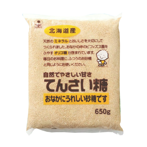 ホクレン 北海道産てんさい糖 650g