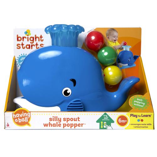 Bright Starts(ブライトスターツ) シリースパウト ホエールポッパー