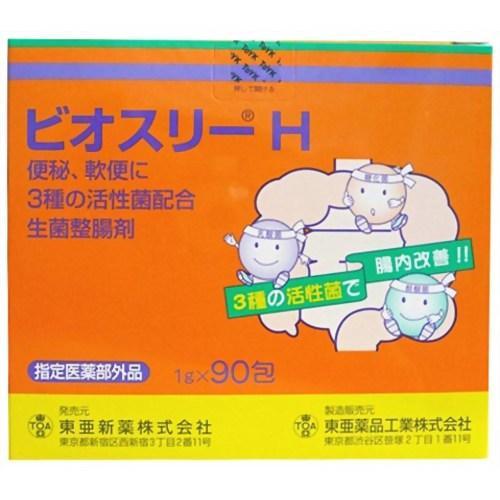 [東亜薬品工業]<br>ビオスリーH 90包