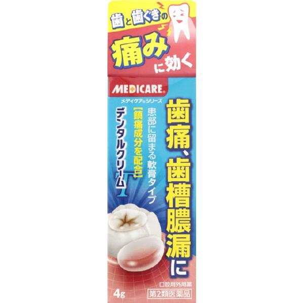 【第2類医薬品】<br>メディケアデンタルクリームT 4g