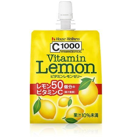 C1000 ビタミンレモンゼリー 180g・口栓付パウチ