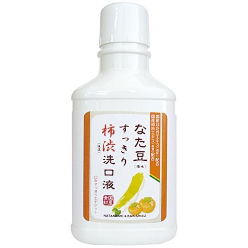 なた豆すっきり<br>柿渋洗口液 500ml