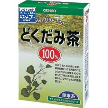 【数量限定】<br>[オリヒロ]<br>NLティー100%どくだみ茶<br>[アウトレット] <br>(賞味期限:2019年8月22日まで)