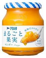 [アヲハタ]<br>まるごと果実 マンゴー 250g
