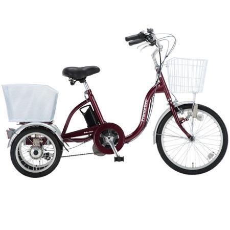 ■代引き不可■<br>[フランスベッド]<br>リハテック  電動アシスト三輪自転車 (ASU-3W01)<br>同梱不可キャンセル不可[送料無料]