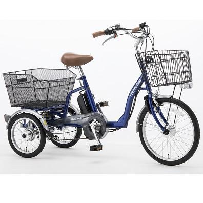 ■代引き不可■<br>[フランスベッド]<br>リハテック  電動アシスト三輪自転車 (ASU-3WT3)<br>同梱不可キャンセル不可[送料無料]