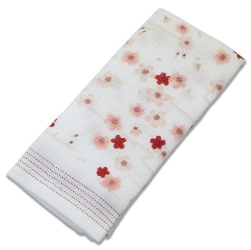 布ごよみ フェイスタオル さくら ピンク 25415 (33×100cm)