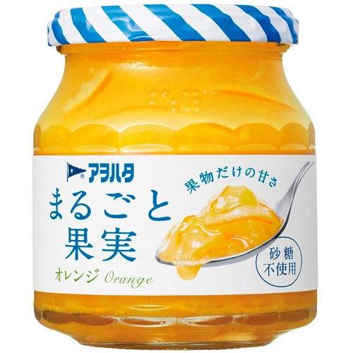 [アヲハタ]<br>まるごと果実 オレンジ 250g
