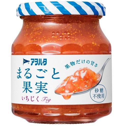 [アヲハタ]<br>まるごと果実 いちじく 255g