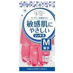 リッチネ うす手 M ピンク 1双