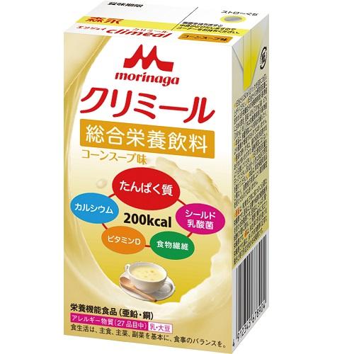 [森永乳業]<br>エンジョイ クリミール コーンスープ味 125mL