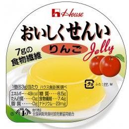[ハウス食品]<br>おいしくせんい りんご 63g