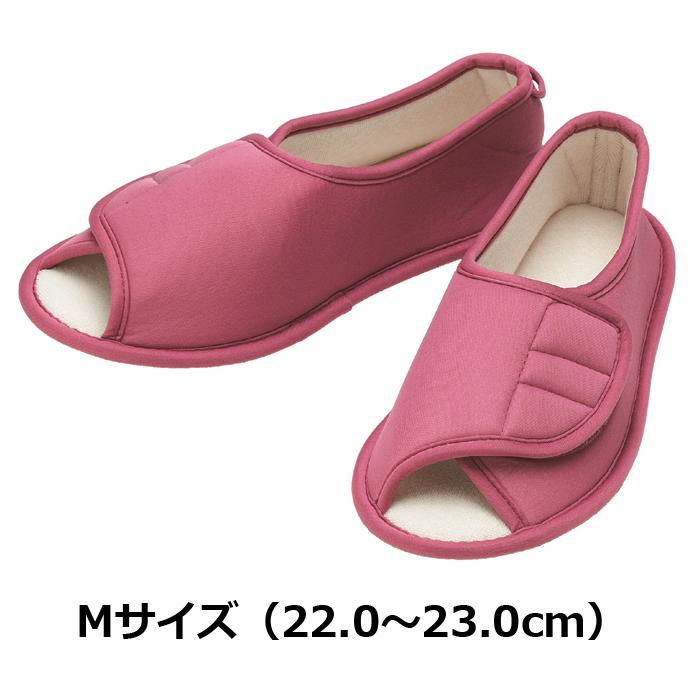 たんぽぽ日和 ルームシューズ用 ピンク Mサイズ 6008/T-008