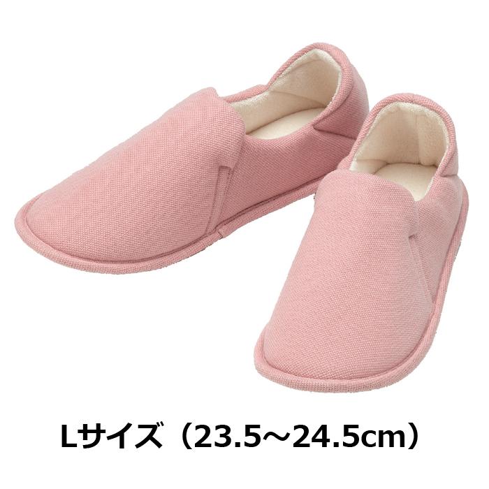 たんぽぽ日和 ルームシューズ用 ピンク Lサイズ 6007/T-007