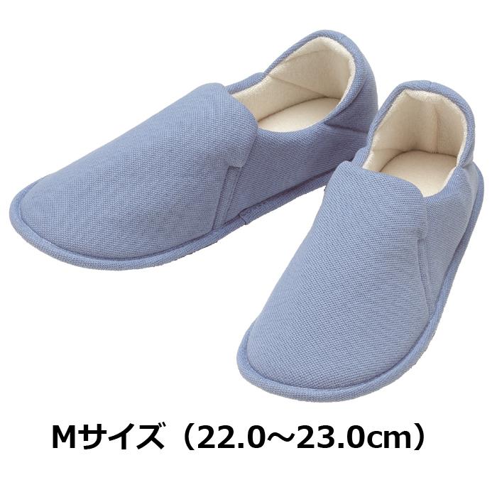 たんぽぽ日和 ルームシューズ用 ブルー Mサイズ 6007/T-007