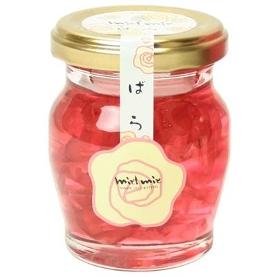 【数量限定】<br>[金市商店]<br>薔薇花びら入り蜂蜜 110g