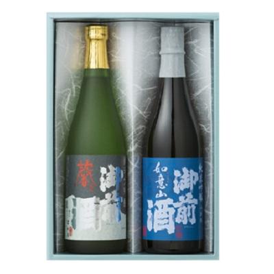 [辻本店]<br>御前酒 吟醸飲みくらべセット(GGN-45) 720ml×2本入
