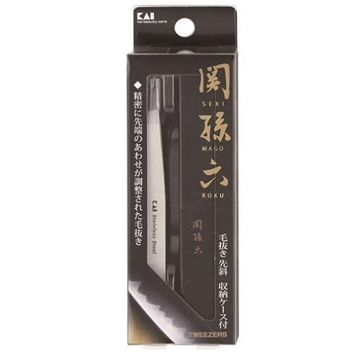 [貝印]<br>関孫六 毛抜き 先斜 (HC1806)