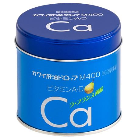 【第(2)類医薬品】<br>【数量限定】<br>カワイ肝油ドロップM400 180錠