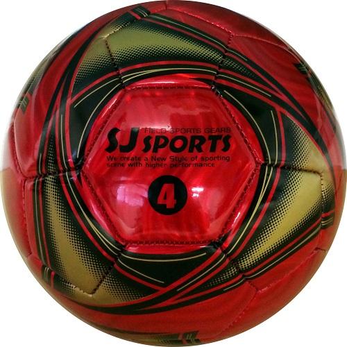 サッカーボール F メタリックレッド 4号