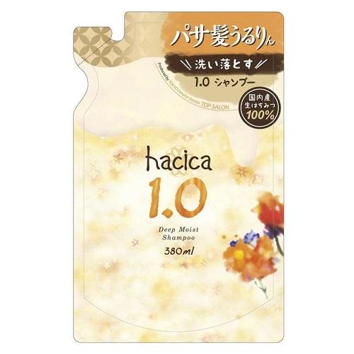 ハチカ ディープモイスト シャンプー 1.0 詰替え 380ml
