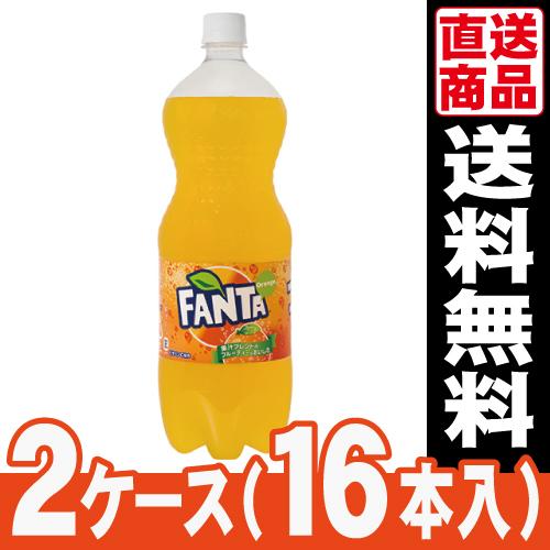 ■代引き不可■<br>[コカコーラ]<br>ファンタ オレンジ 1.5L<br>【2ケース(16本入)】<br>同梱不可キャンセル[送料無料]