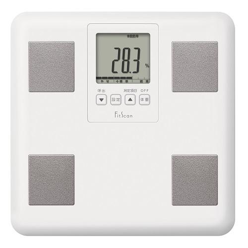 [タニタ]<br>体組成計FitScan ホワイト (FS-DG01-WH)