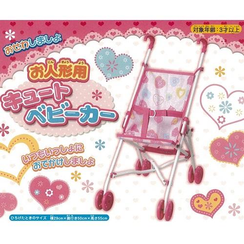 【数量限定】<br>お人形用キュートベビーカー