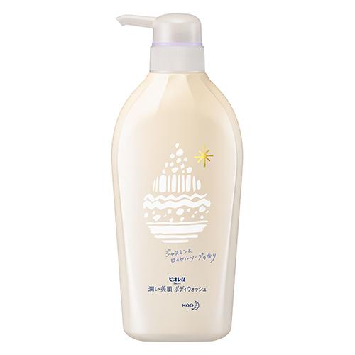 [花王]<br>ビオレu 潤い美肌ボディウォッシュ ジャスミン&ロイヤルソープの香り 本体 480ml