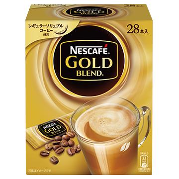 [ネスレ]<br>ネスカフェ ゴールドブレンド スティックコーヒー 6.6g×28本